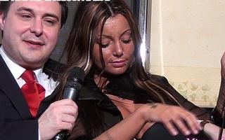 Mistress Godiva ballbusts a lackey for Andrea Dipr&egrave_