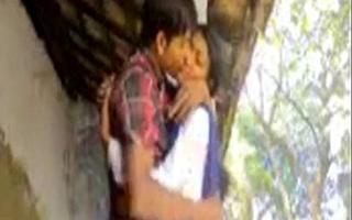 Free sex clip of desi village ungentlemanly outdoor sex in uniform