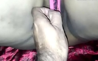 indian full-grown desi big curvy ass aunty play with vibrator dildo and indian aunty fucking with stranger big ass aunty engulfing big cock and loud moaning