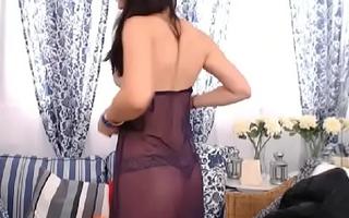 LittleTeenBB Riley strips involving underwear, dances, in bra and panties