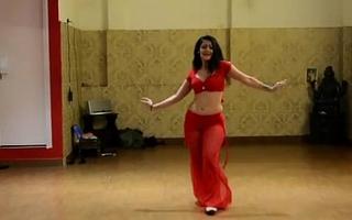 Chap-fallen hot Indian Belly Dancing