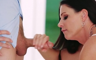 Stepdaughter Arielle Faye Catches Mom Then Joins In