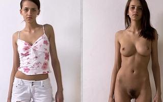 Dressed Undressed Multiracial Sluts