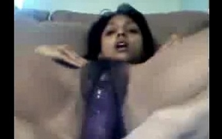 Indian Girl Masturbating With A Toy