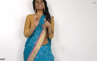 Hot Indian Aunty peeing for virgin boy in Hindi