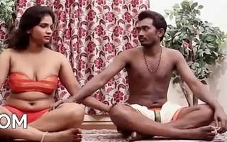 Indian Couple'_s Sensual Yoga Hot Sex Glaze [HD] - PORNMELA.COM