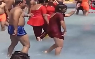 www.desichoti.tk Hand-outs Relating Hot Dance at forthright water world ।। Desi Indian