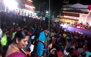 Aunty ass dance nigh concert more visit indianvoyeur.ml