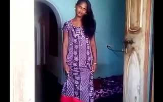Indian Girl in Nighty