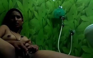 Sexy Indian Woman playing in Bangalore